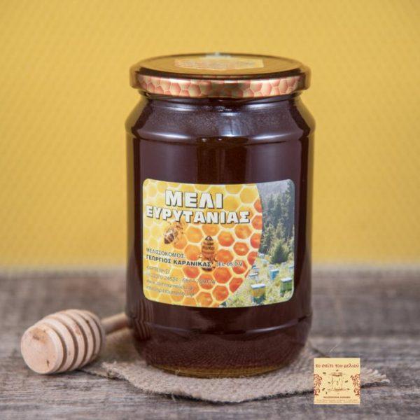 Μέλι Ελάτων 1 kgr. γυάλινο (1)