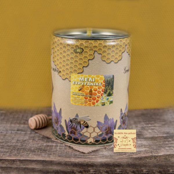 Μέλι Ελάτων 5 kgr. μεταλλικό