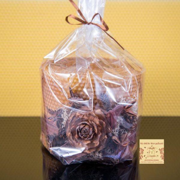 ΚΔ-ΕΦ3ΚΕΡ2 Διακοσμητικό Κερί Μέλισσας