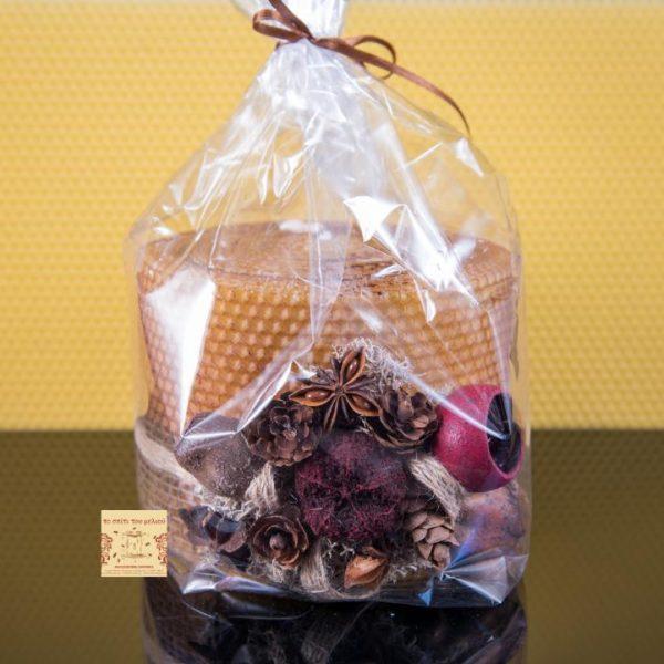 ΚΔ-ΕΦ3ΚΕΡ3 Διακοσμητικό Κερί Μέλισσας