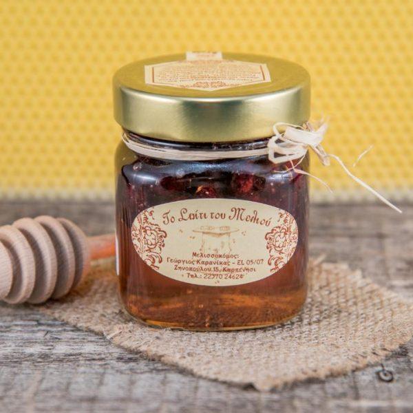 Μέλι Θυμαρίσιο με κράνμπερι