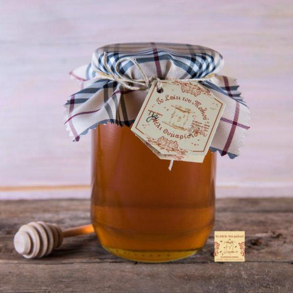 Μέλι Θυμαρίσιο με πανάκι 1 kgr. (2)