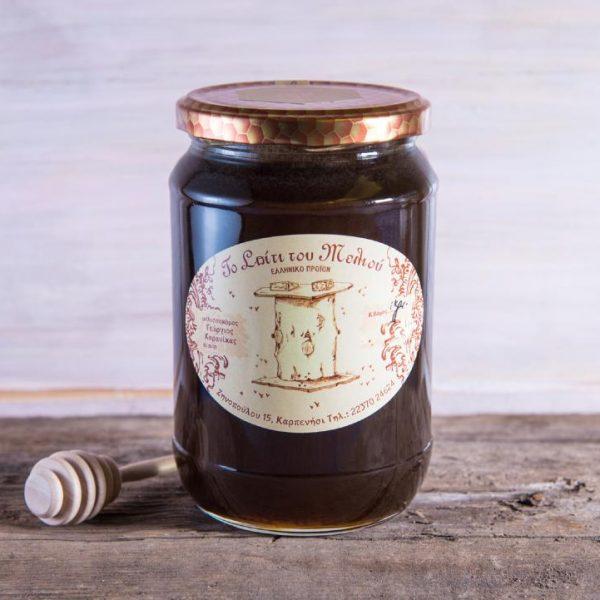 Μέλι Κωνοφόρων 1 kgr. (γυάλινο) (2)