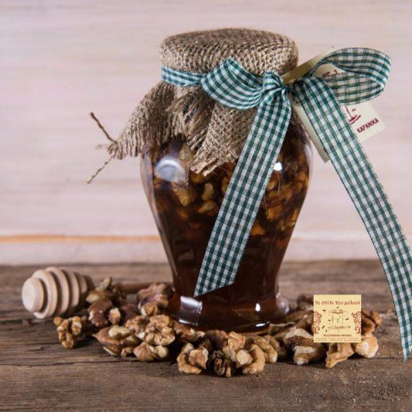 Μέλι με Καρύδια (460γρ.)